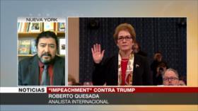 Quesada: El proceder ilegal de Trump le traerá secuelas negativas