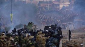 Represión brutal en Bolivia deja 5 muertos y decenas de heridos