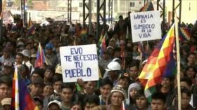 Masiva marcha en Bolivia exige la renuncia de Jeanine Áñez