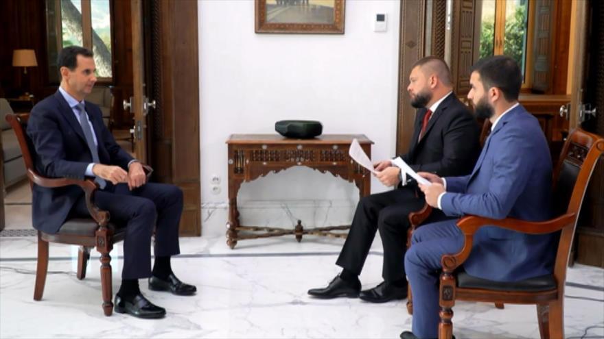 Al-Asad advierte sobre una desintegración territorial en Siria