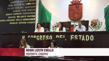 Chiapas aprueba revocación de mandato a nivel federal