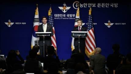 Pentágono insta a Seúl a pagar más por presencia militar de EEUU