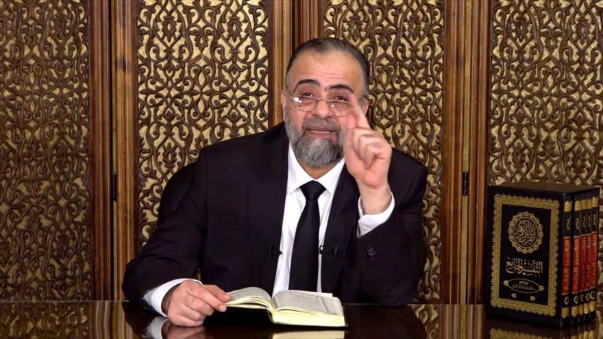 El ministro sirio de Bienes Habices, Muhamad Abdul-Sattar al-Seyed.