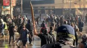 Continúan las protestas antigubernamentales en Chile