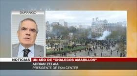 Zelaia: Chalecos amarillos protestan hasta lograr cambio político