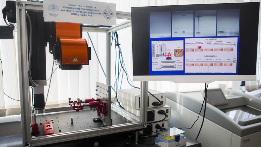 Vídeo: Bioimpresora rusa imprimirá un ser humano en horas