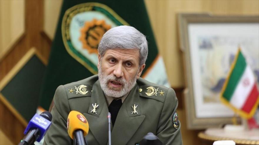 El ministro de Defensa de Irán, el general de brigada Amir Hatami.