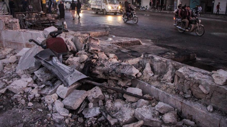 Atentado terrorista deja 19 muertos y 33 heridos en Siria