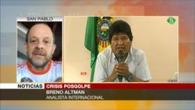 Altman: El golpe de Estado en Bolivia está pariendo una dictadura