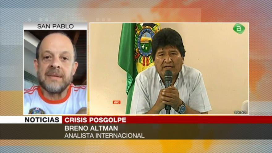 Altman: El golpe de Estado en Bolivia está pariendo una dictadura | HISPANTV