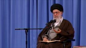 Discurso de Líder iraní. Entrevista a Salvatierra. Apoyo a Morales