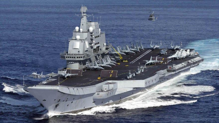 China muestra músculo en el estrecho de Taiwán con su portaviones | HISPANTV