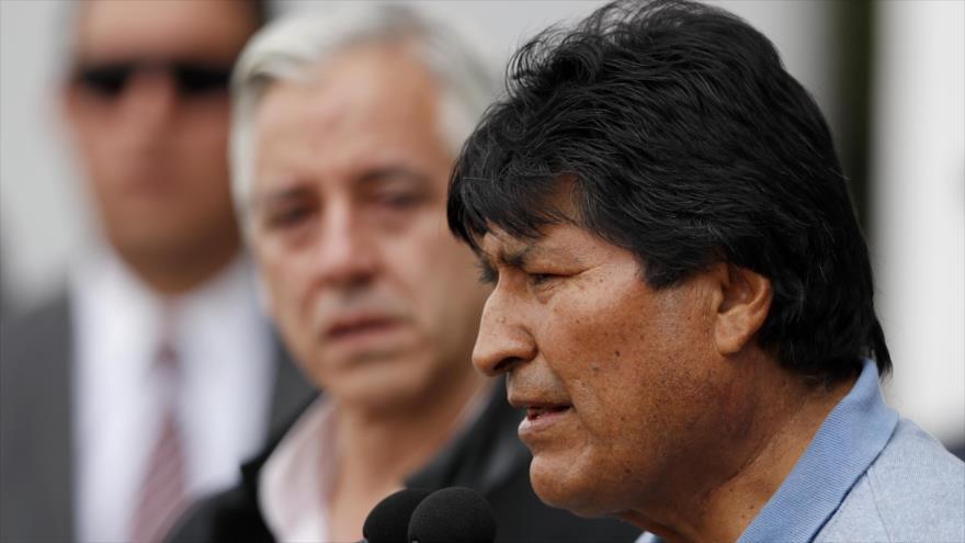 Morales tacha al Gobierno de Áñez de dictadura represiva