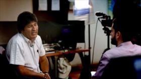 Morales: Tengo mucho miedo a una guerra civil en Bolivia