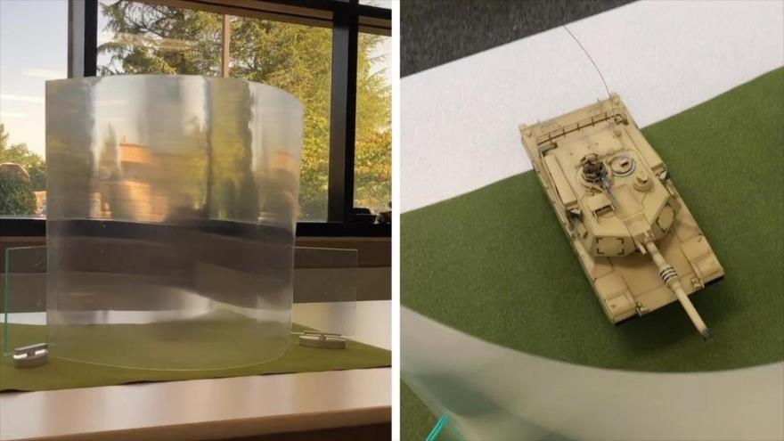 Vídeo: Crean un material que hace invisible a las personas