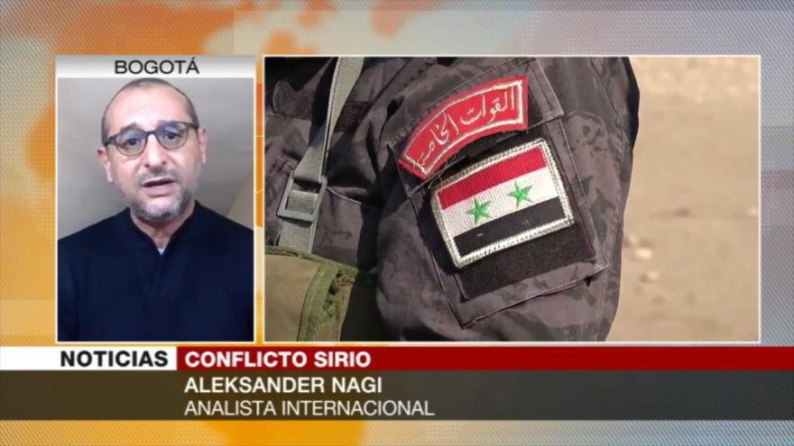 Nagi: EEUU está sentado encima de un polvorín en Siria