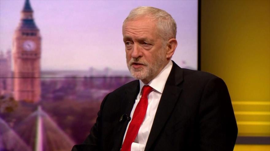 Corbyn: Partido Laborista no formaría un gobierno de coalición