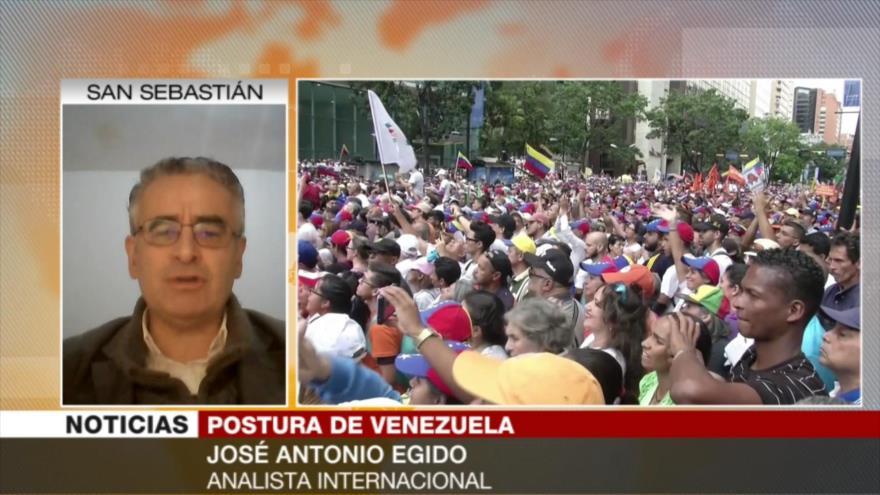 Egido: Aislar a fuerzas de Guaidó privará a EEUU de su 5.ª columna