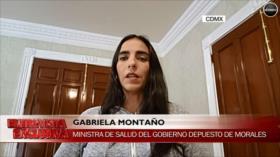 Montaño: Golpistas cometieron acciones de sicariato en Bolivia