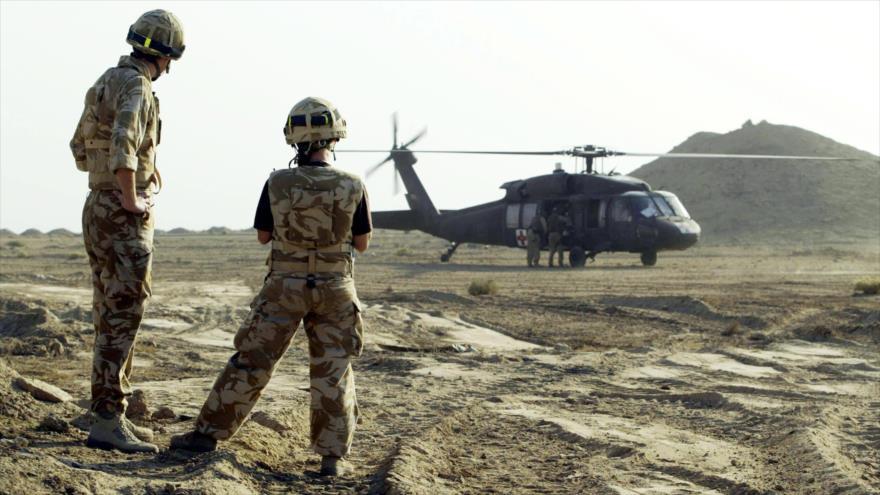 Soldados de Black Watch, que han sido implicado en las acusaciones de crímenes de guerra. (Foto: PA)