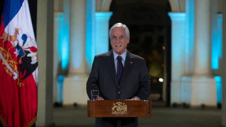 Piñera admite tras un mes de protestas: Hubo uso excesivo de fuerza   HISPANTV