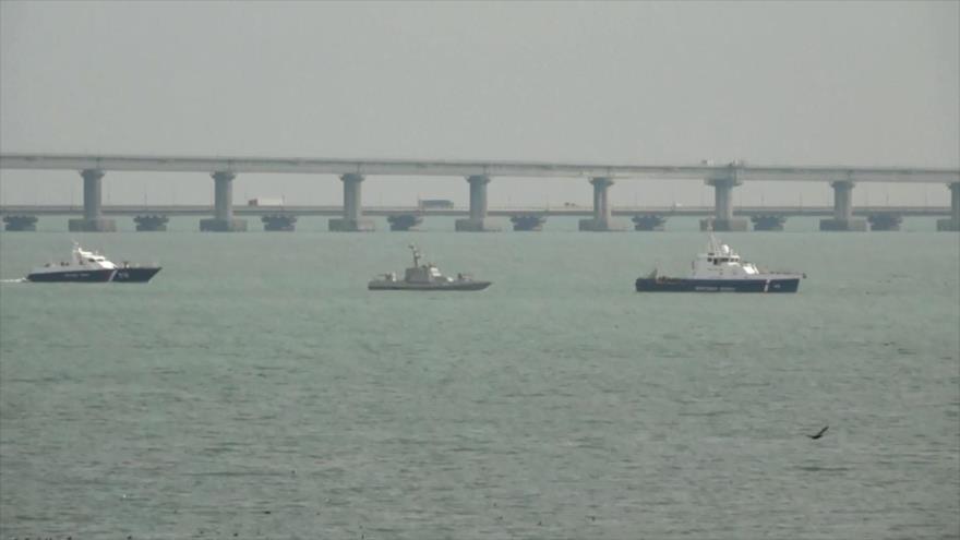 Rusia devuelve a Ucrania los tres buques capturados hace un año
