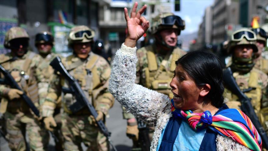 El MAS pide retirada de militares para un diálogo en Bolivia | HISPANTV