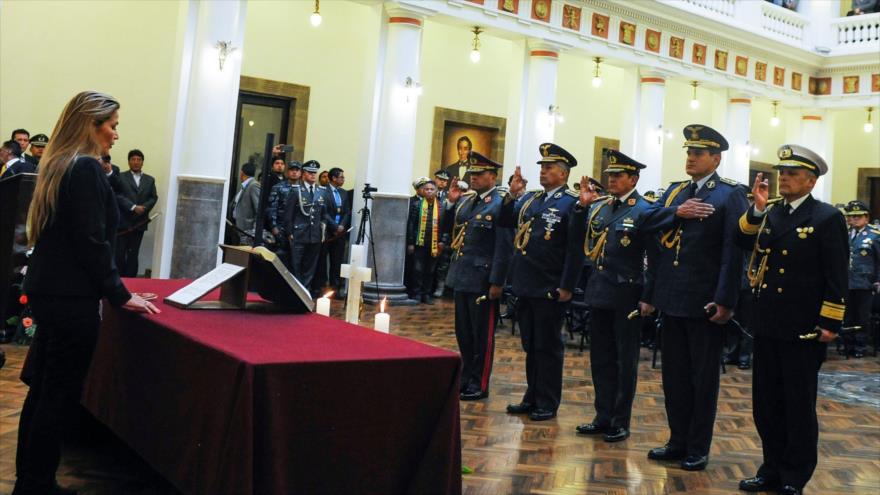 Gobierno de facto boliviano persigue a diputados del MAS de Morales | HISPANTV