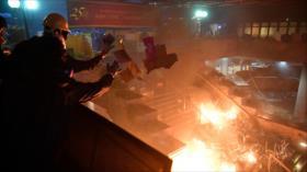 China tiene 'bastante poder' para acabar con protestas en Hong Kong