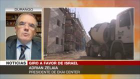 Zelaia: Trump apoya a Israel para ser reelegido como presidente