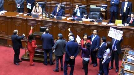 ¿Cómo funciona el Congreso de Perú tras su disolución?