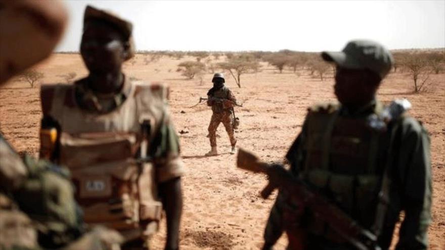 Fuerzas del Ejército maliense durante una operación cerca de Tin Hama, 20 de octubre de 2017. (Foto: Reuters)