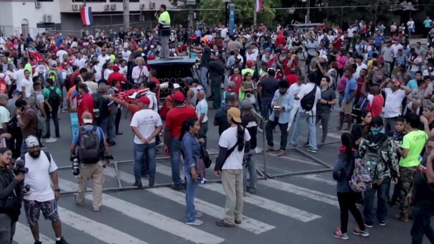 Panameños reclaman un nuevo pacto social