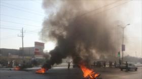 Alborotadores mataron a tres agentes de seguridad en Teherán