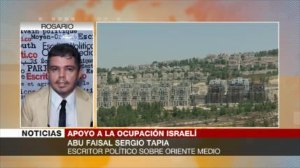 """""""EEUU legaliza crímenes de Israel reconociendo sus colonias"""""""