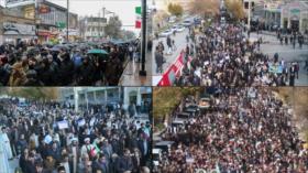 El pueblo iraní rechaza los violentos disturbios en el país