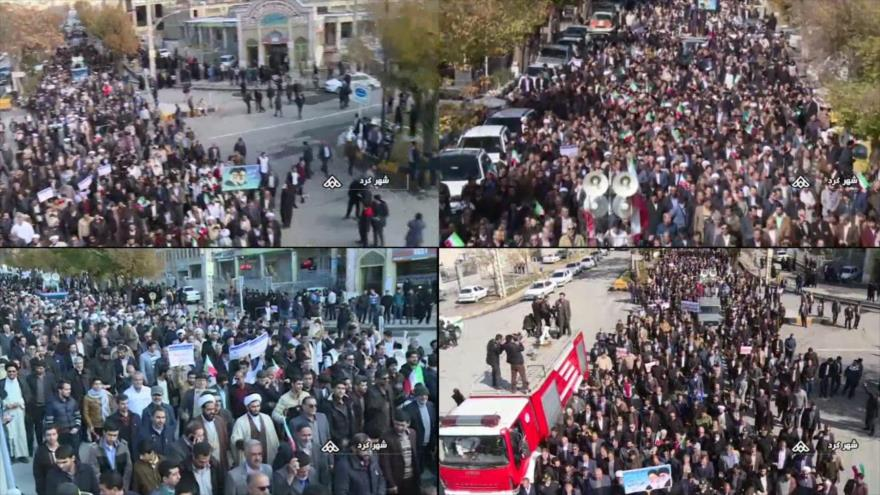 Disturbios en Irán. Asentamientos israelíes. Corrupción en España