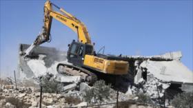 Israel demuele viviendas palestinas en la Cisjordania ocupada