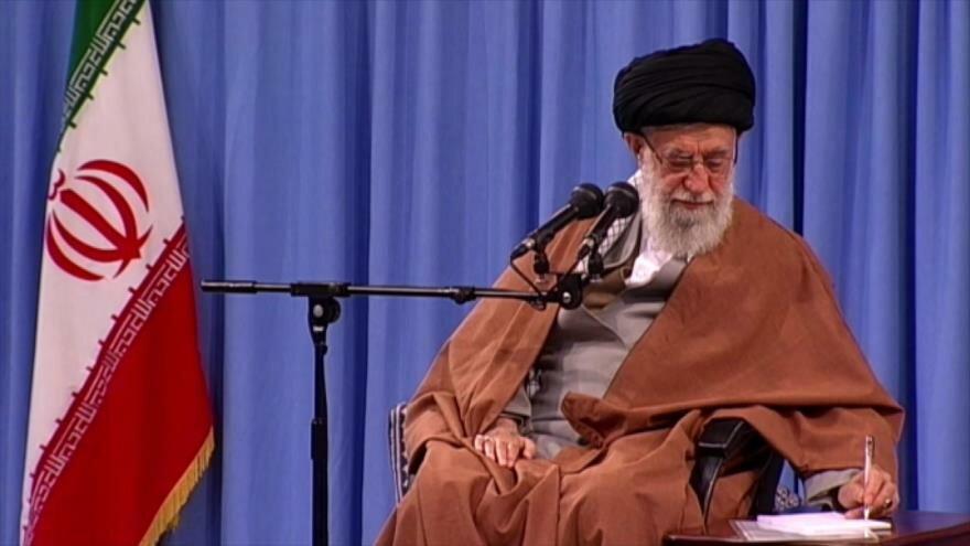 Discurso de Líder iraní. Apoyo de EEUU a Israel. Sentencia de ERE