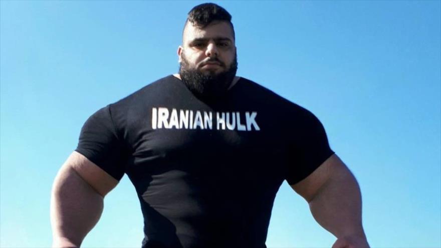 Sayad Qaribi, el llamado 'Hulk iraní'.