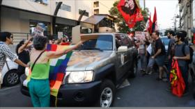"Impiden a Almagro dar discurso en Paraguay al grito de ""golpista"""