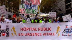 Gobierno francés anuncia paquete económico para sector de salud