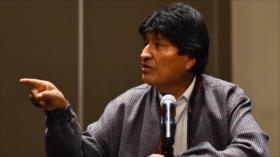 Morales tacha de 'genocidio' la brutal represión en Bolivia