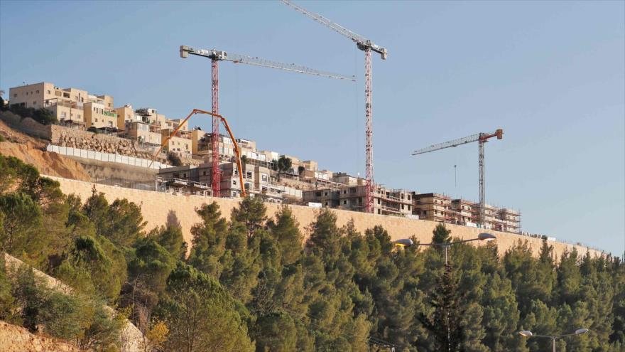 Asentamientos israelíes en el este de Al-Quds (Jerusalén), 20 de noviembre de 2019. (Foto: AFP)