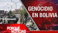 El Porqué de las Noticias: Protestas en Irán. Ataque israelí contra Siria. Genocidio en Bolivia según Evo Morales