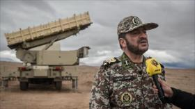 """Irán lanza maniobras para defender sus cielos; una """"línea roja"""""""