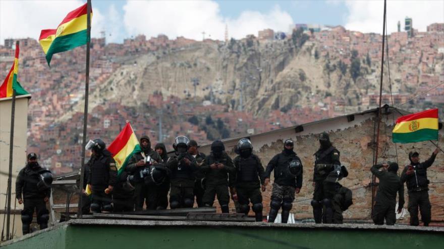 'Cúpula golpista en Bolivia fue entrenada por EEUU' | HISPANTV