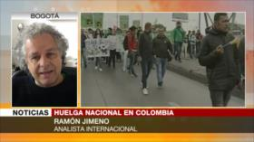 Jimeno: Gobierno de Colombia hace oído sordo a la opinión pública