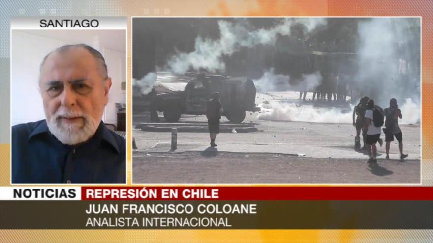 Coloane: Chile es un violador sistemático de derechos humanos