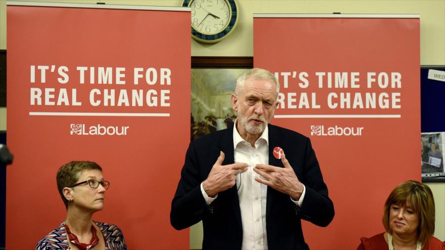 Corbyn promete cambio en R. Unido combatiendo a ricos y poderosos